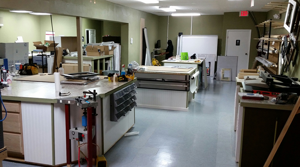 Work and Production Area